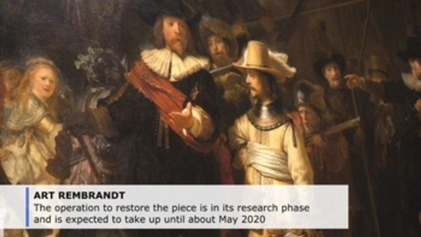 Watch Rembrandt masterpiece get a face lift in person