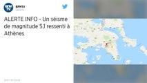 Grèce : Un fort séisme ressenti à Athènes, les lignes téléphoniques perturbées
