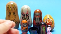 .Marvel Nesting Dolls - Guardians of the Galaxy Doll Toys