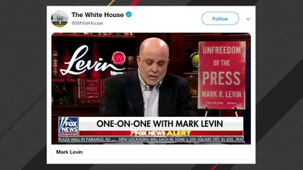 White House, Trump Share Mark Levin Video Attacking Ilhan Omar