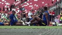 Manchester United train ahead of ICC match with Inter Milan in Singapore
