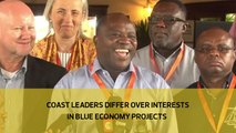 Coast leaders differ over interests in Blue Economy projects