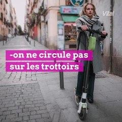 Trottinette électrique : on adopte la bonne attitude !