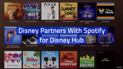 You Can Listen To Disney Classics On Spotify