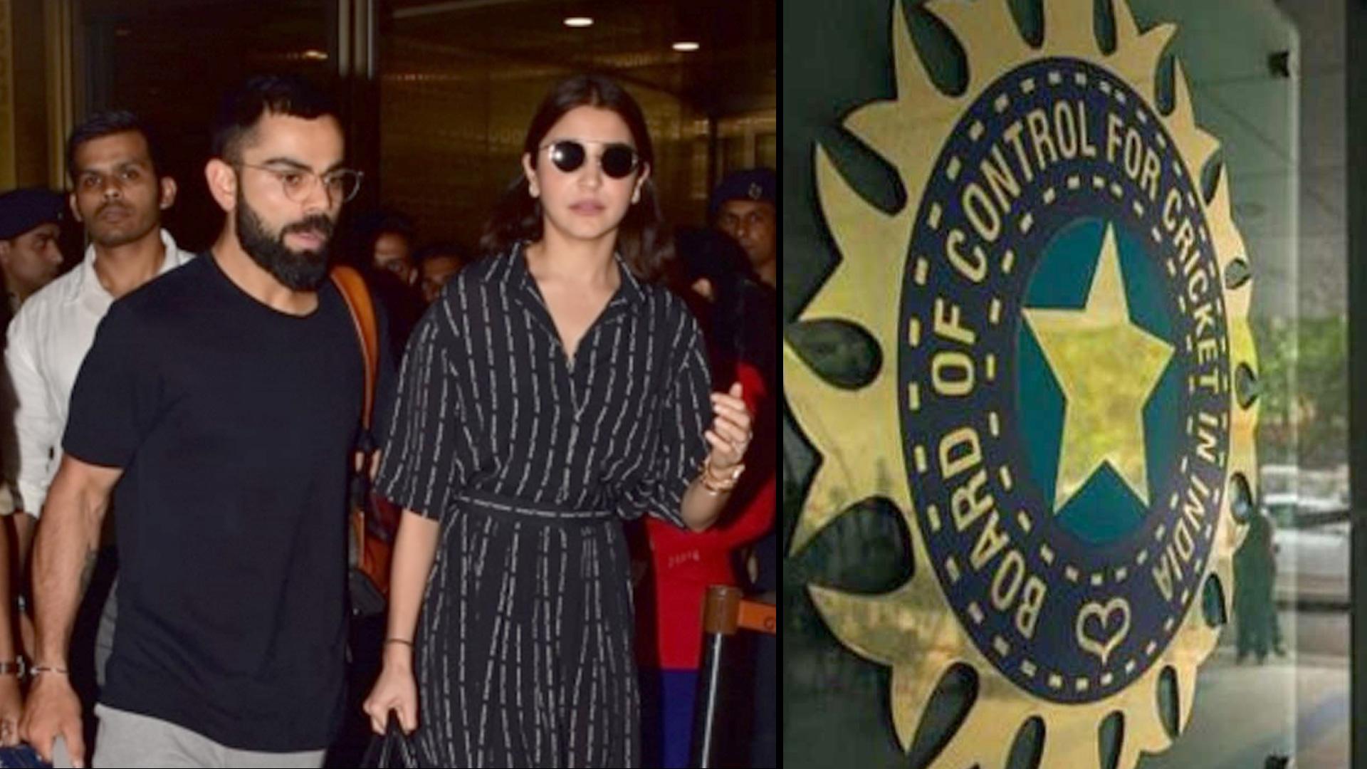 Kohli And Anushka Return Home After World Cup Exit || Oneindia Telugu