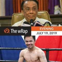 Manny Pacquiao in better shape for fight with Thurman | Evening wRap