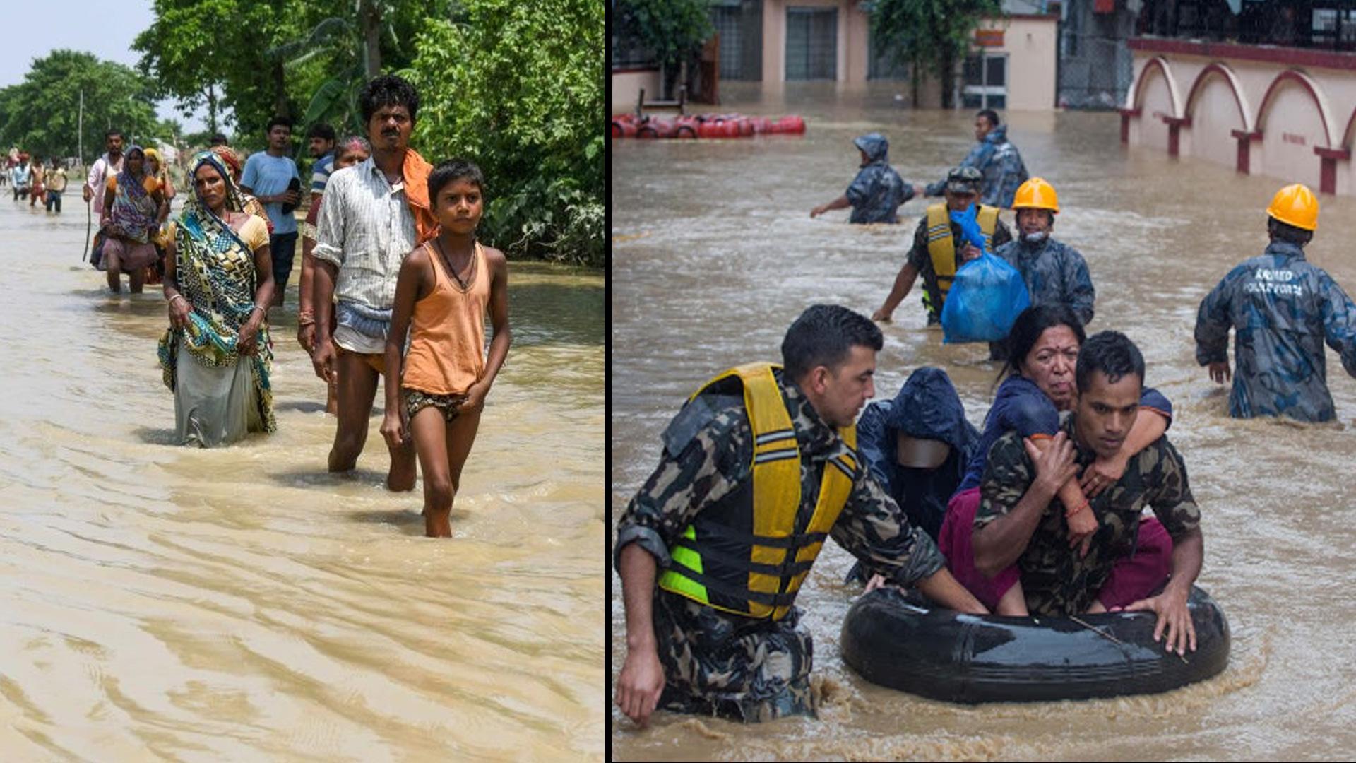 పలు రాష్ట్రాలను ముంచెత్తుతున్న వరదలు || Oneindia Telugu