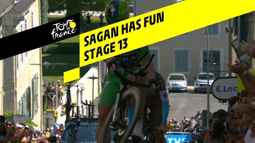 Sagan Has Fun - Étape 13 / Stage 13 - Tour de France 2019
