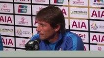 (Subtitled) Antonio Conte won't speculate on Lukaku as Inter prep for Man Utd