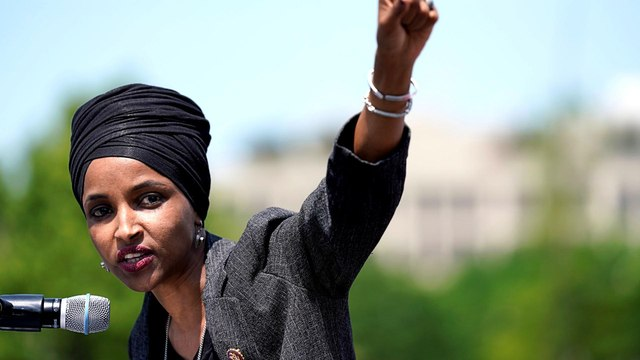 'Not deterred': A defiant Ilhan Omar vows to fight Trump