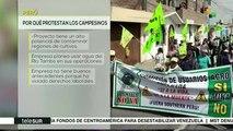 Temas del Día:  Perú: sector salud y campesino en huelga