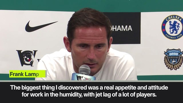 (Subtitled) Lampard praises his squad after losing to Kawasaki Frontale in last minute winner