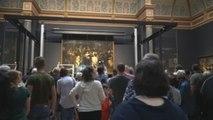 """La restauración de """"La Ronda de Noche"""", atracción turística en Ámsterdam"""