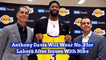 Anthony Davis Has To Settle For A Different Jersey Number