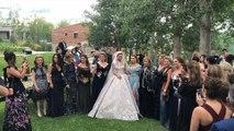 فيديو يكشف عن قالب الكيك الضخم في حفل زفاف ابن إيلي صعب