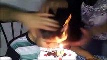 Cet enfant se souviendra longtemps de son anniversaire... Traumatisé