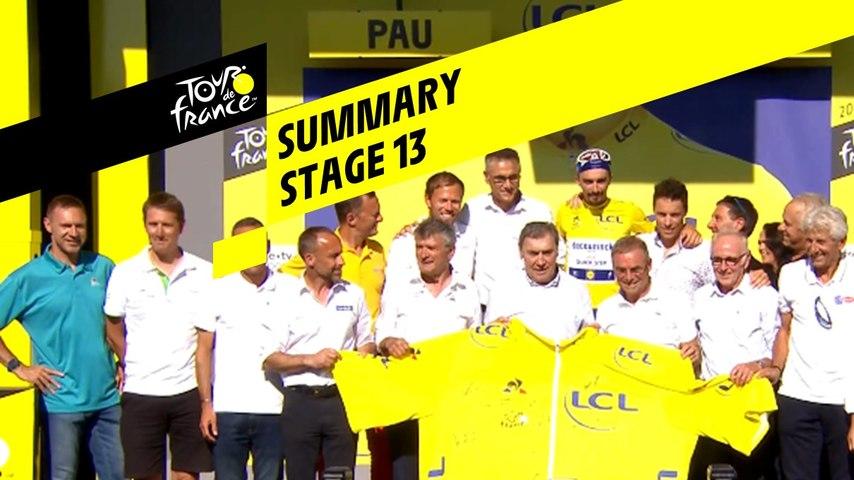 Summary - Stage 13 - Tour de France 2019