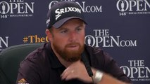 Joint Open leader Shane Lowry 'very happy' with impressive second round