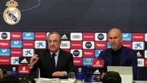 ZIDANE quitte le REAL MADRID !