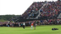 Holmes and Lowry tied at The Open as Woods and McIlroy miss the cut