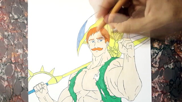 Drawing Escanor Lion's Sin of Pride - Nanatsu no Taizai (Seven Deadly Sins)