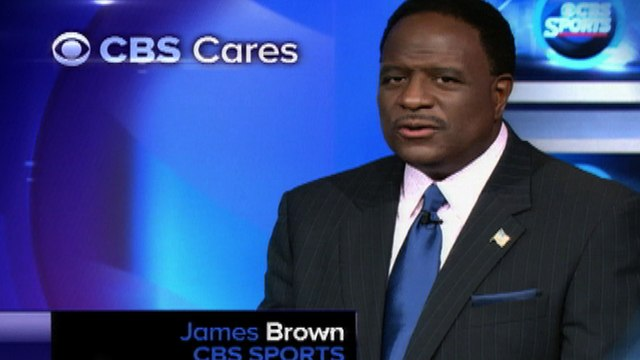 CBS Cares - James Brown on Red Cross