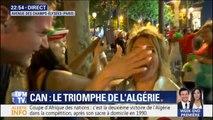 Coupe d'Afrique des nations: cette supportrice algérienne apprend la victoire de son équipe