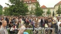Greta Thunberg s'adresse aux militants pour le climat à Berlin