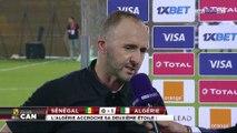 """Djamel Belmadi : """"On est un pays de football, on mérite même si c'était un match difficile"""""""
