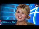 "Maddie Poppe Auditions for American Idol With ""Rainbow Connection"" - American Idol 2018 on ABC"