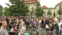 Greta Thunberg addresses Fridays for Future protest in Berlin
