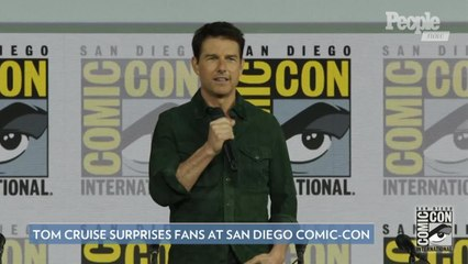 Tom Cruise Surprises Fans at Comic-Con and Debuts the First Trailer for 'Top Gun: Maverick'