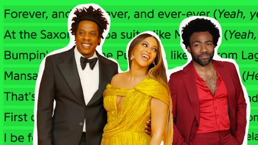Beyoncé, JAY-Z & Childish Gambino's