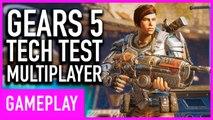 Gears 5 - Arcade Deathmatch Multiplayer Gameplay (Tech Test)