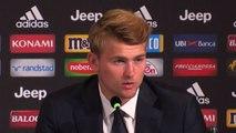 """Juventus, De Ligt: """"Voglio vincere tutto coi bianconeri"""""""