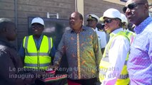 Le Kenya inaugure le plus grand parc éolien d'Afrique