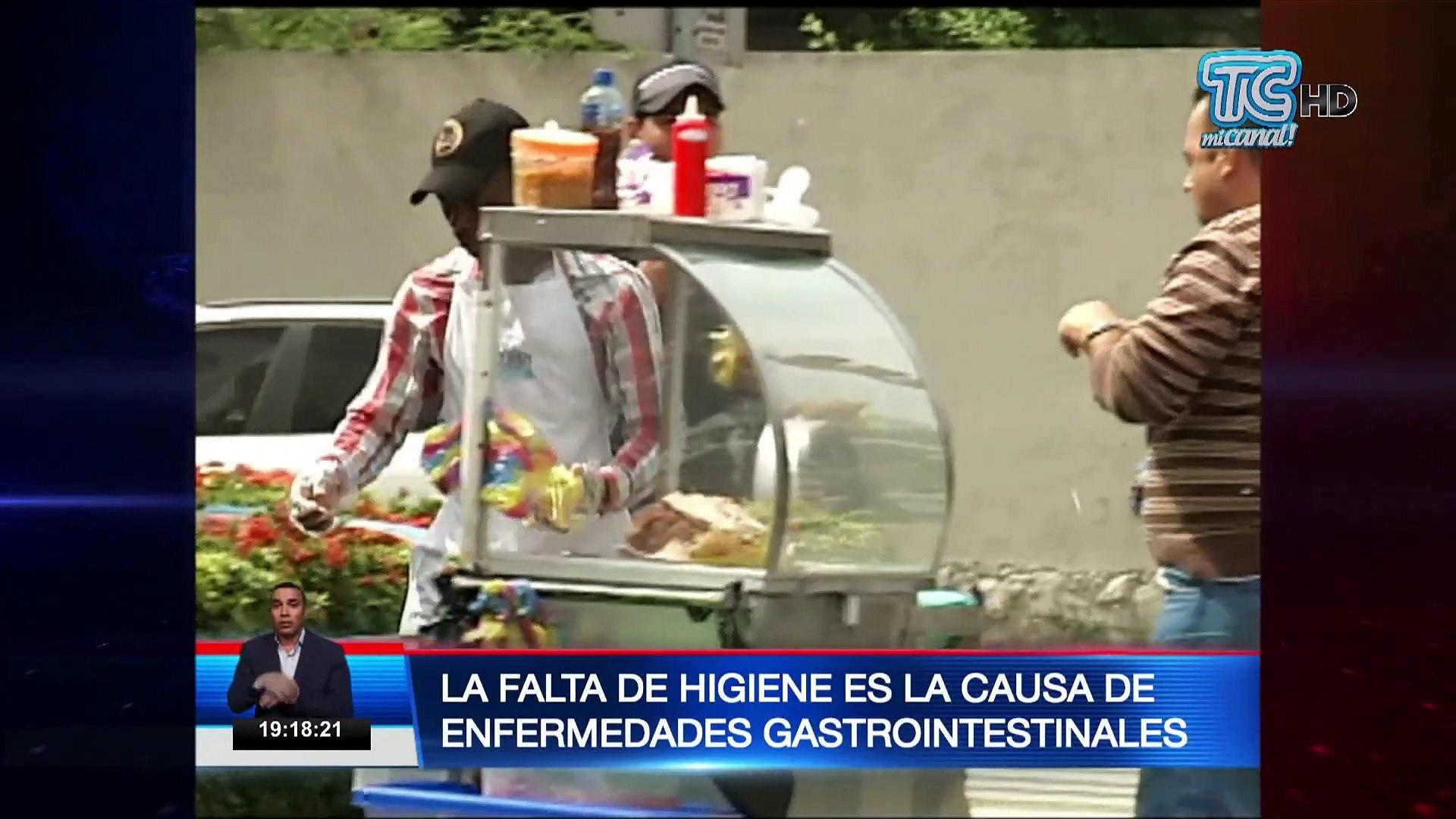 Comidas en la calle contienen bacterias generadas por falta de higiene