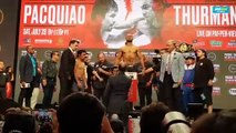 Keith Thurman makes weight