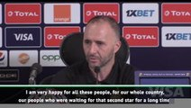 Belmadi hails 'unbelievable' Algeria win