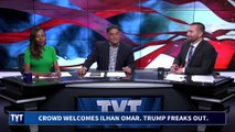 """Welcome Home Ilhan!"" Crowd Cheers Omar's Return To Minnesota"