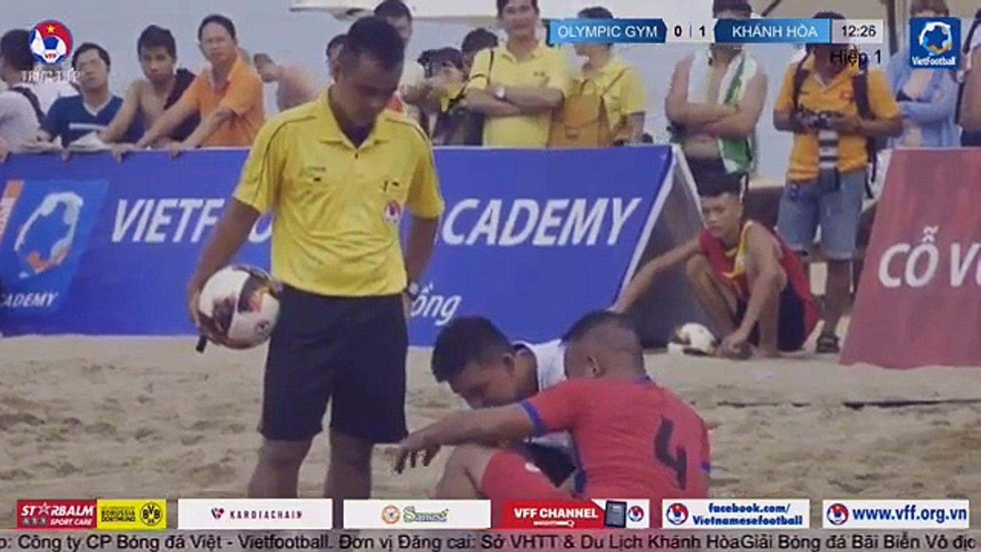 TRỰC TIẾP | Khánh Hòa - Olympic Gym & Fitness | Giải bóng đá Bãi biển Vô địch Quốc gia | VFF Cha