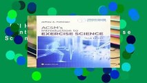 [GIFT IDEAS] ACSM s Introduction to Exercise Science