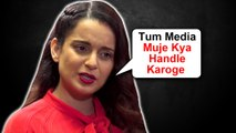 "Kangana Ranaut TAUNTS Media Calls ""Raah Chalta""   Judgementall Hai Kya Controversy"