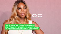 Serena Williams hints at fashion career after tennis