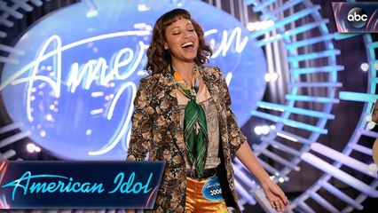 Amelia Hammer Harris Auditions With Rolling Stones Song - American Idol 2018 on ABC