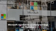 Microsoft Earnings Blew Away Estimates