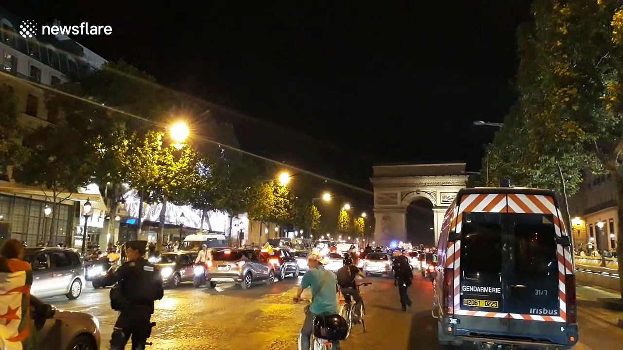 Algeria's African Cup title sparks street parties across France