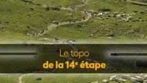 Alaphilippe et Thomas à l'épreuve du Tourmalet, le topo de la 14e étape