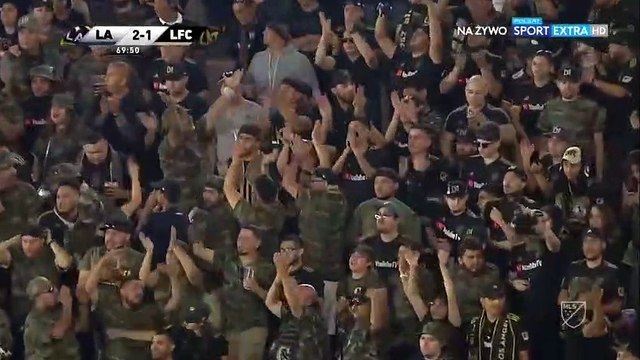 Ibrahimovic hat-trick goal against LAFC (3-1)