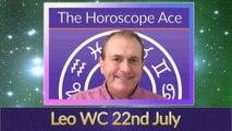 Leo Weekly Astrology Horoscope 22nd July 2019